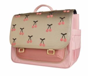 It bag midi cherry pompon logo