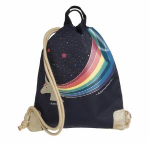 City Bag Unicorn Gold logo
