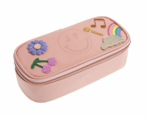 Pencil box lady gadget pink logo