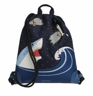 City bag Sharkie logo