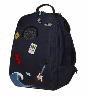 Backpack James Mr. Gadget logo